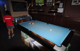 Brunswick Pool Table.