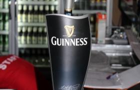 Draught Guinness.