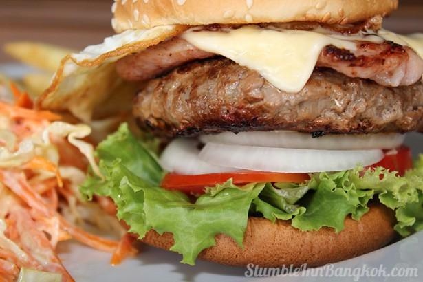 Stumble Handmade Burger.
