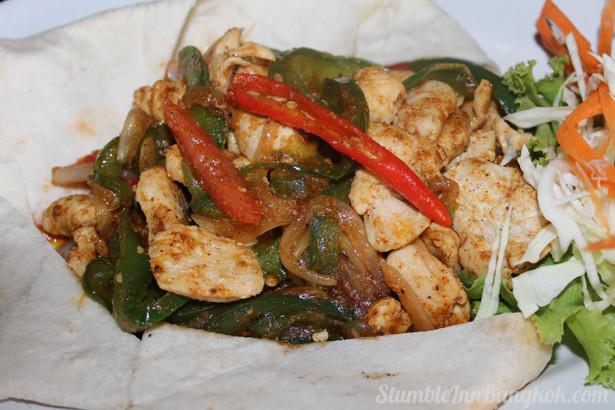 Spicy Chicken Fajita
